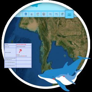 ระบบคาดการณ์ผลกระทบต่อทรัพยากรทางทะเลและชายฝั่ง (GIS)