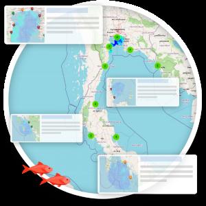 ระบบรายงานสถานการณ์ทางสมุทรศาสตร์รายวัน ข้อมูลเรดาร์ชายฝั่ง (Sea State Report)