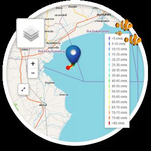 ระบบติดตามการเคลื่อนที่ของวัตถุในทะเล (Drift-Object Tracking System on the Sea Surface)