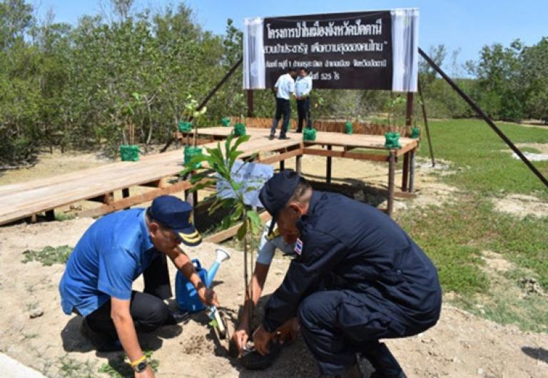 """ป่าในเมือง ป่าในเมืองจังหวัดปัตตานี""""สวนป่าประชารัฐ เพื่อความสุขของคนไทย"""""""
